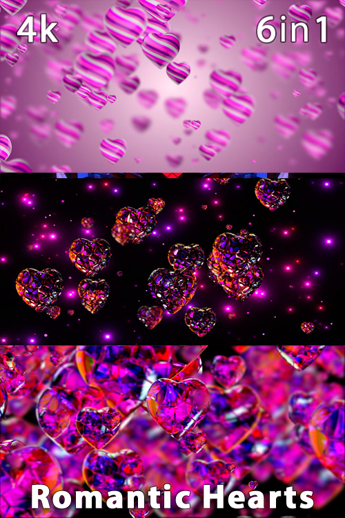 Romantic Hearts 4K (6n1)