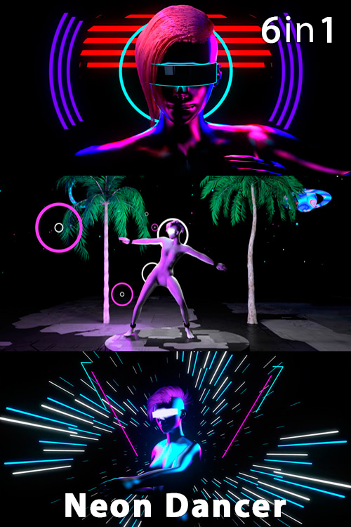 Neon Dancer (6in1)
