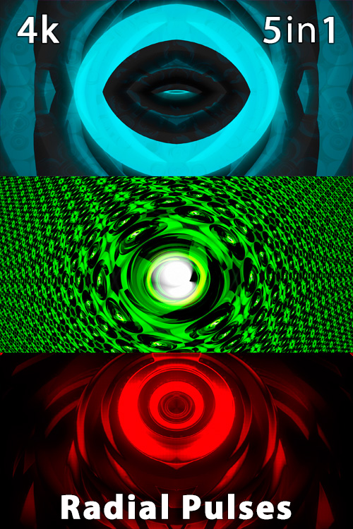 Radial Pulses 4K (5in1)