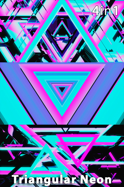 Triangular Neon (4in1)