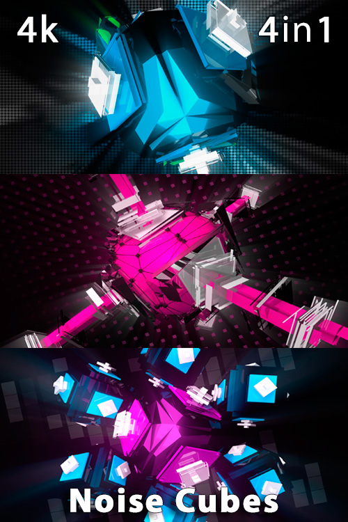 Noise Cubes 4K (4in1)