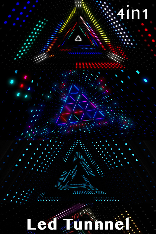 Led Tunnel (4in1)