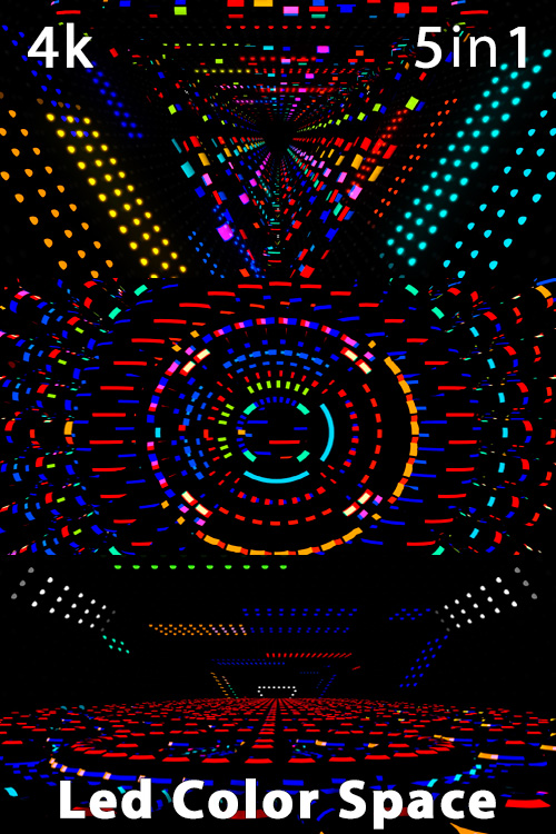 Led Color Space 4K (5in1)
