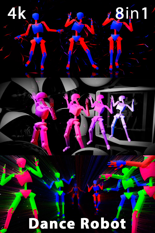 Dance Robot 4K (8in1)