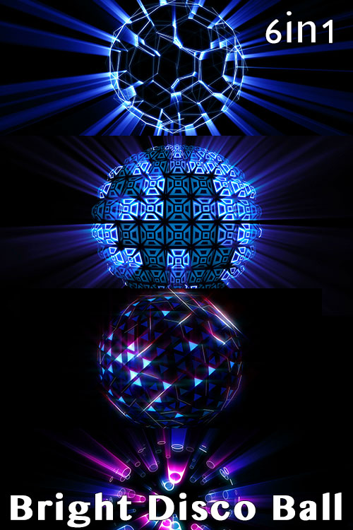 Bright Disco Ball (6in1)