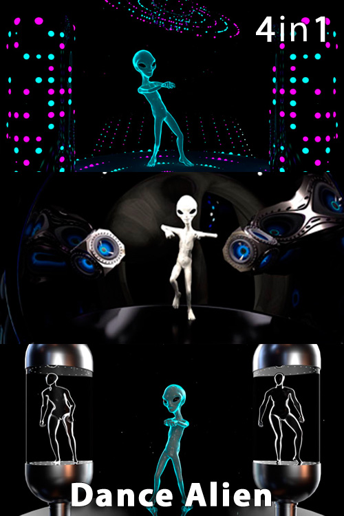 Dance Alien (4in1)