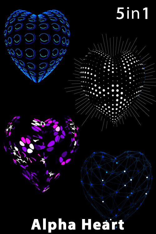 Alpha Hearts (4in1)