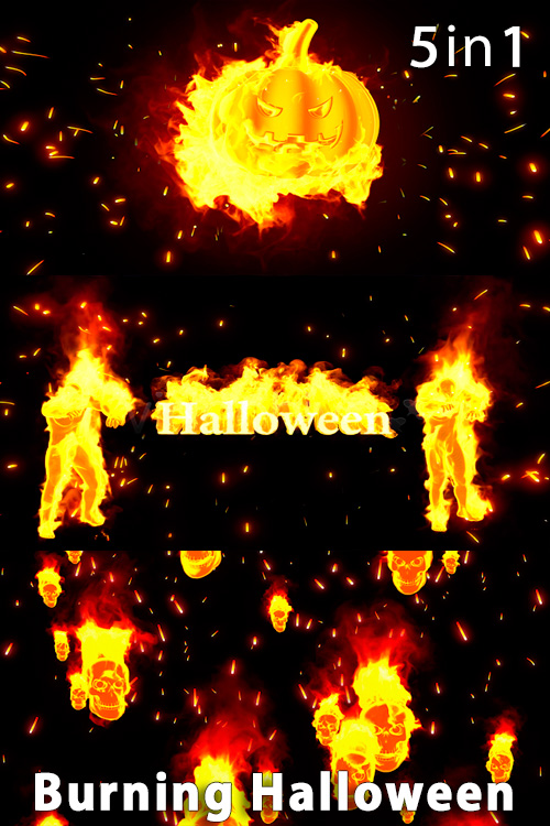 Burning Halloween (5in1)