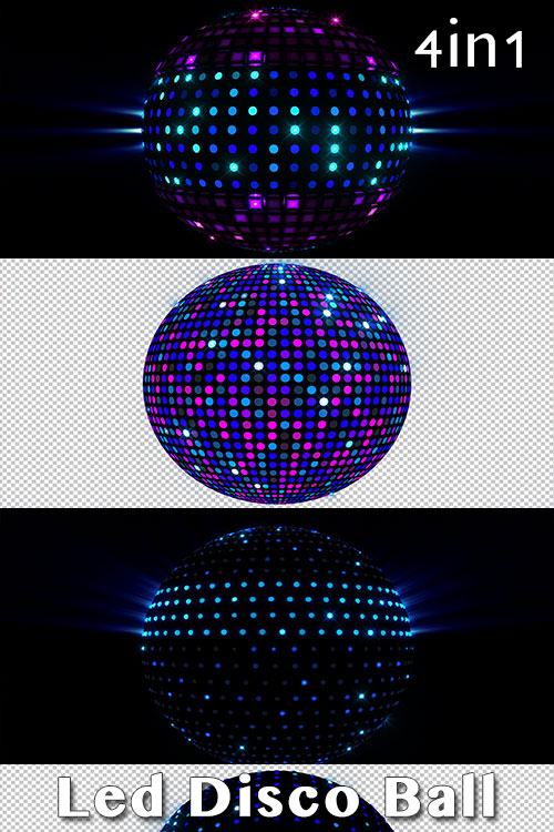 Led Disco Ball (4in1)