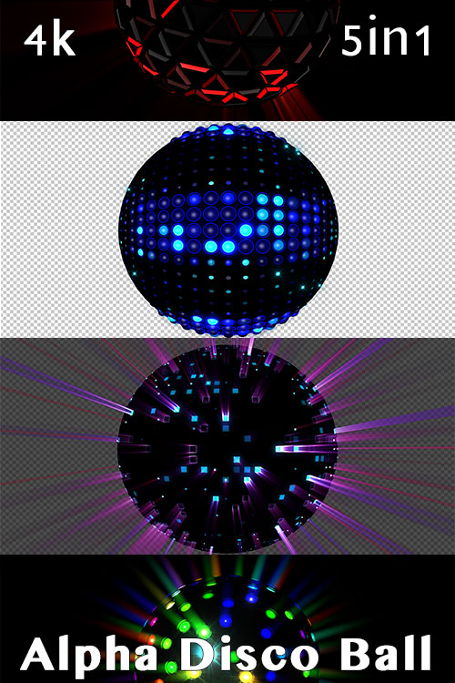 Alpha Disco Ball 4K (5in1)