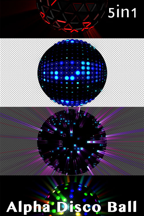 Alpha Disco Ball (5in1)