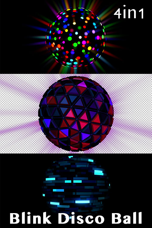 Blink Disco Ball (4in1)