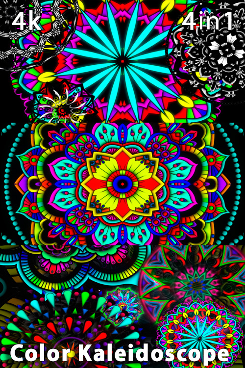 Color Kaleidoscope 4K (4in1)