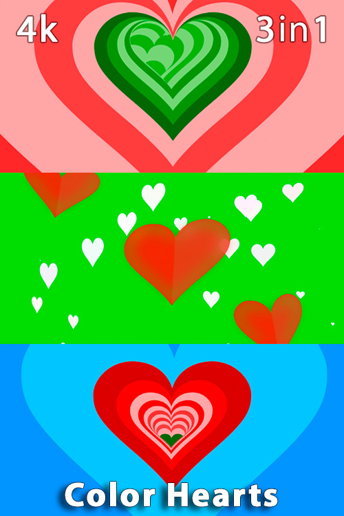 Color Hearts 4K (3in1)